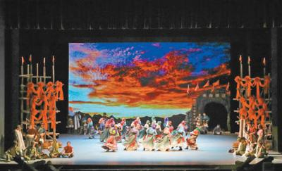 国家大剧院原创民族舞剧《天路