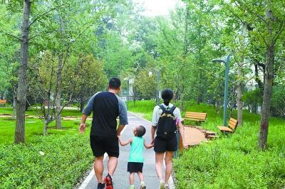 新中街居民寄语家门口新建公园:建好了,还要管好