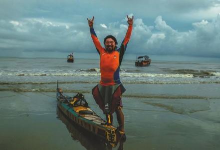 从渤海湾至北部湾 重庆小伙绕中国海岸线漂流299天-智慧漳州-社会新闻