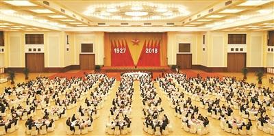 热烈庆祝建军91周年