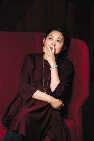 倪萍 因为电视,一夜之间成了全国红人
