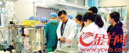 每年参与救治千余患儿 武志远:当好医生需要一辈子