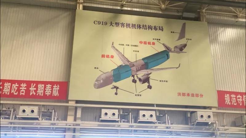 揭秘:如何用100万个零件组装成一架C919?