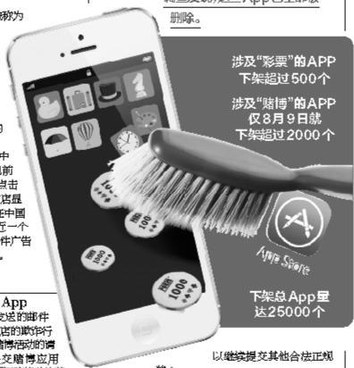 苹果App Store下架25万个运用 涉假彩票打赌等规范