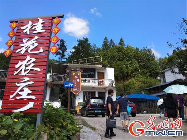 """【改革开放江西印记】大井村:""""红色旅游""""让村民的日子越过越红火"""