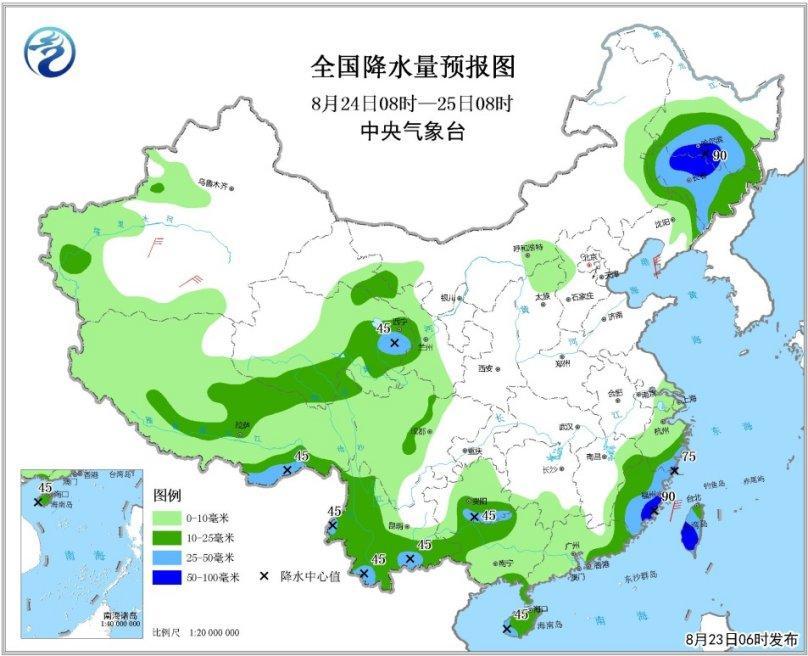 台风苏力影响东部海区 未来三天江南华南有较强降水尺有所短的下一句