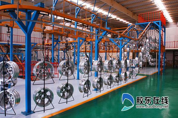 汽车零部件生产基地:中信戴卡汽车轮毂生产线