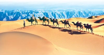 沙特与伊朗续交寒情沙漠 塞上江南(标致本国)