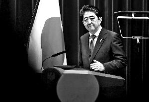 安倍晋三 宣布参选