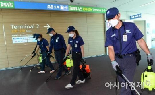 时隔3年韩国重现MERS疫情 仁川机场加强消毒防疫【组图】【2】