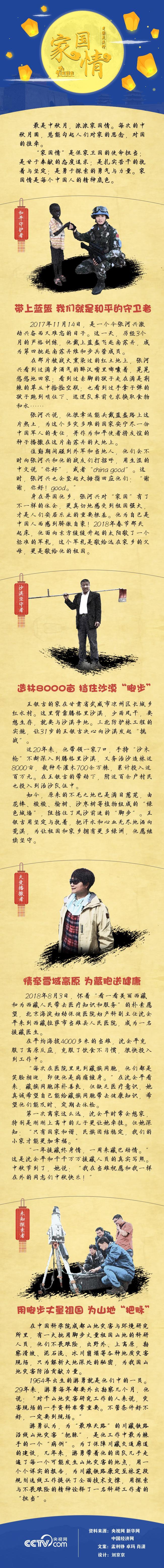 月圆总关情:中秋节,他们的家国情令人动容