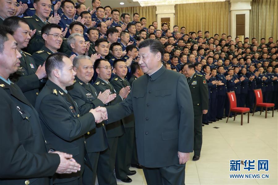 (时政)(3)习近平视察79集团军