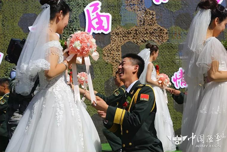 你嫁给爱情的样子,真美!