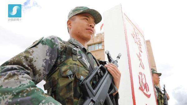 西藏军区塔克逊哨所:请祖国放心 海拔
