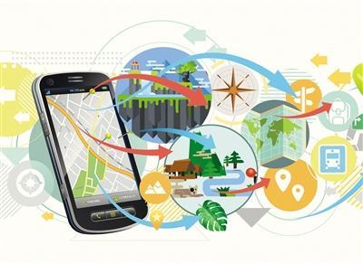 """高中生在家赚钱的方法:手机地图""""瞄准""""景区"""