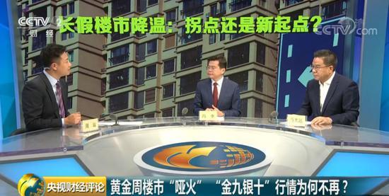 """国庆黄金周楼市""""哑火"""" 是拐点还是新起点?"""