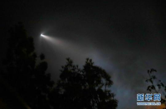 """""""猎鹰9""""火箭成功发射阿根廷卫星"""