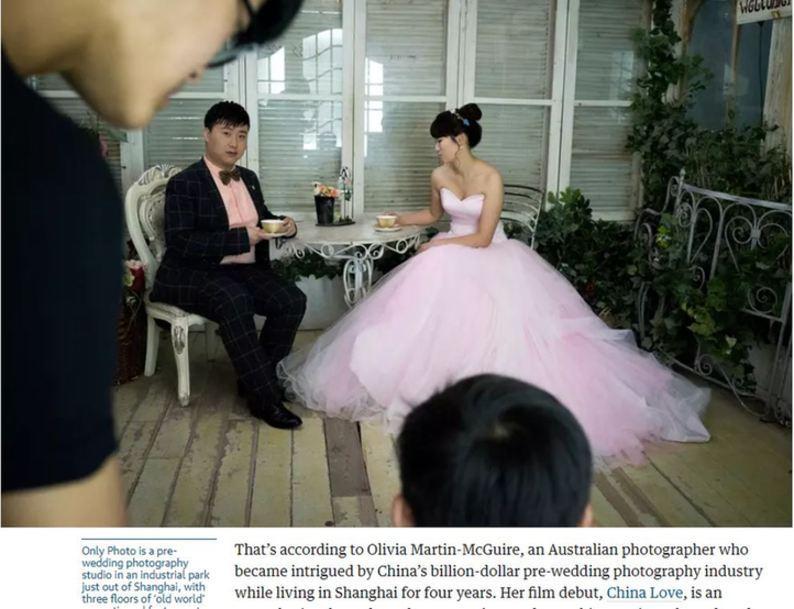 【中国那些事儿】英媒:从黑白证件照到精美婚纱照 小小结婚照折射中国社会大变迁