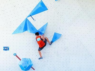 向东京奥运会前行 潘愚非:每次攀爬都像和自己对话