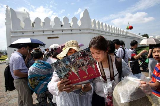 美媒:赴泰中国游客数目骤减令泰国不安