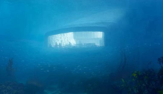 世界上最大的水下餐厅将开业 先睹为快