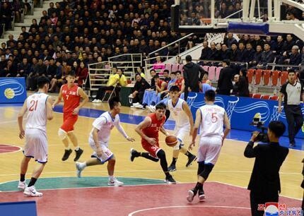 中朝男篮混合赛11日在平壤举行 双方130