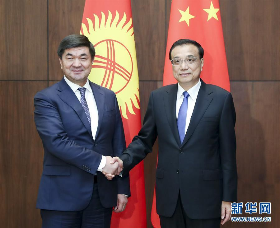 (时政)李克强会见吉尔吉斯斯坦总理阿布尔加济耶夫