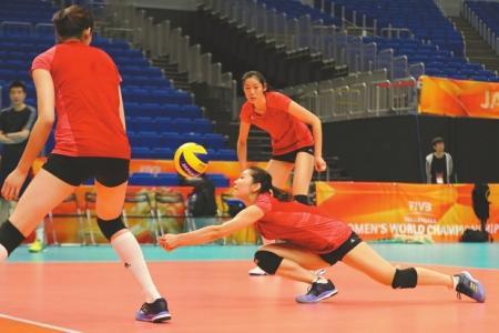 中国女排不挑对手  女排想冲决赛发挥水平