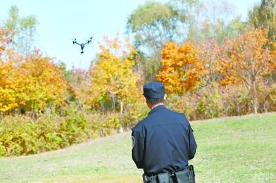守护候鸟通道首次用上无人机