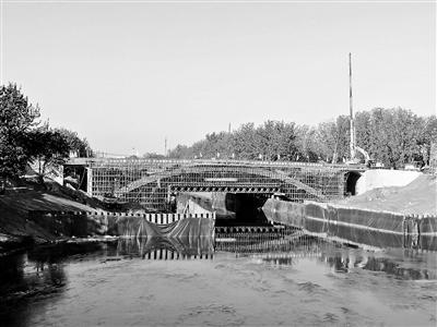 八里桥老桥将禁止机动车通行