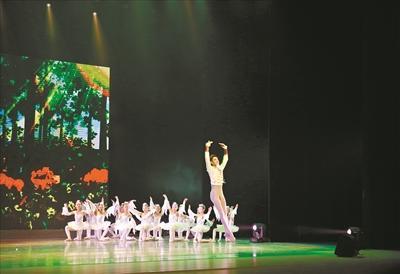 深原創少兒芭蕾 歌舞劇成功首演