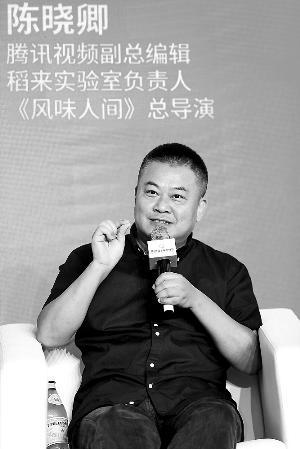 陈晓卿 纪录片综艺化挡不住
