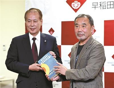 北京赛车龙虎怎么分:37年头一回 村上春树开新闻发布会