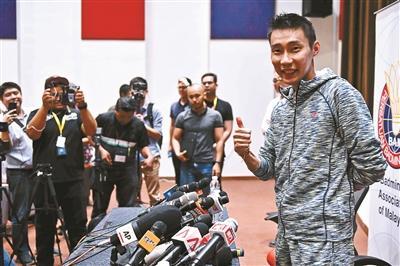 李宗伟:我很爱我的国家  热爱羽毛球这项运动