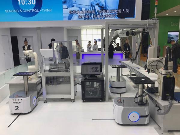 全球顶尖技术装备云集进博会 智能工厂展品引人关注