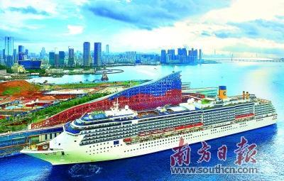 大型邮轮公司持续布局中国市场 期待形成多母港