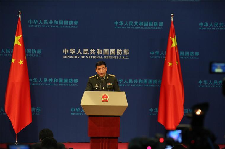 国防部就美航母再过台湾海峡、国产航母