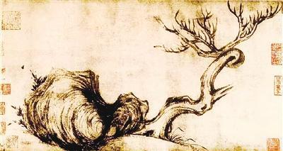 刷新世界古画拍卖纪录苏轼《木石图》为啥值4个亿?