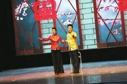 二人台小戏《走西欧》走进太原 受观众热烈欢迎