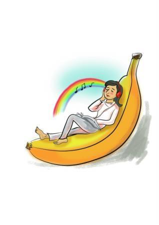 心情不好吃根香蕉月光卡盟
