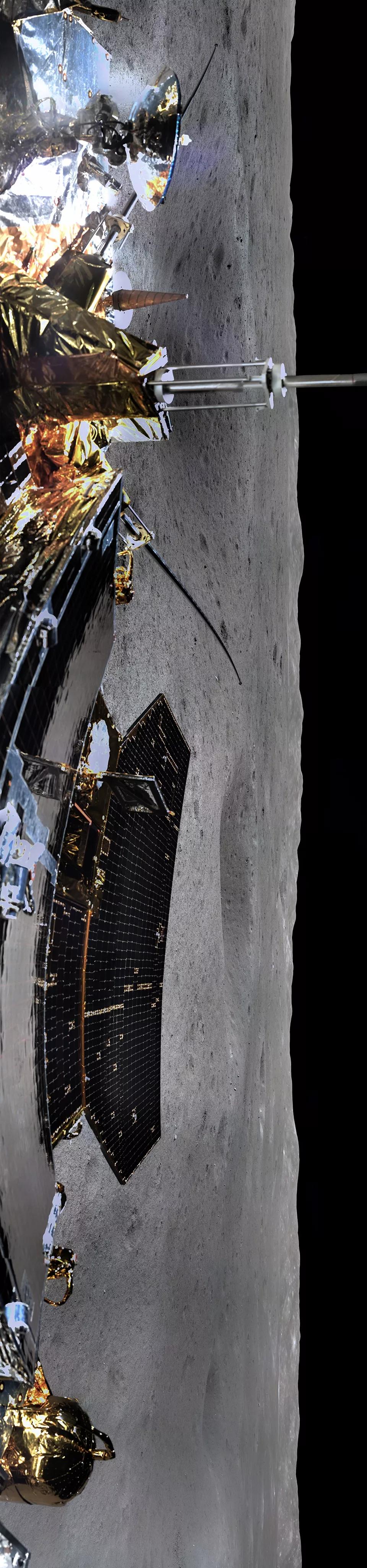 """""""月背全景图""""刷屏了,它的正确打开方式,你get到了么?变形记 美丽加减法"""