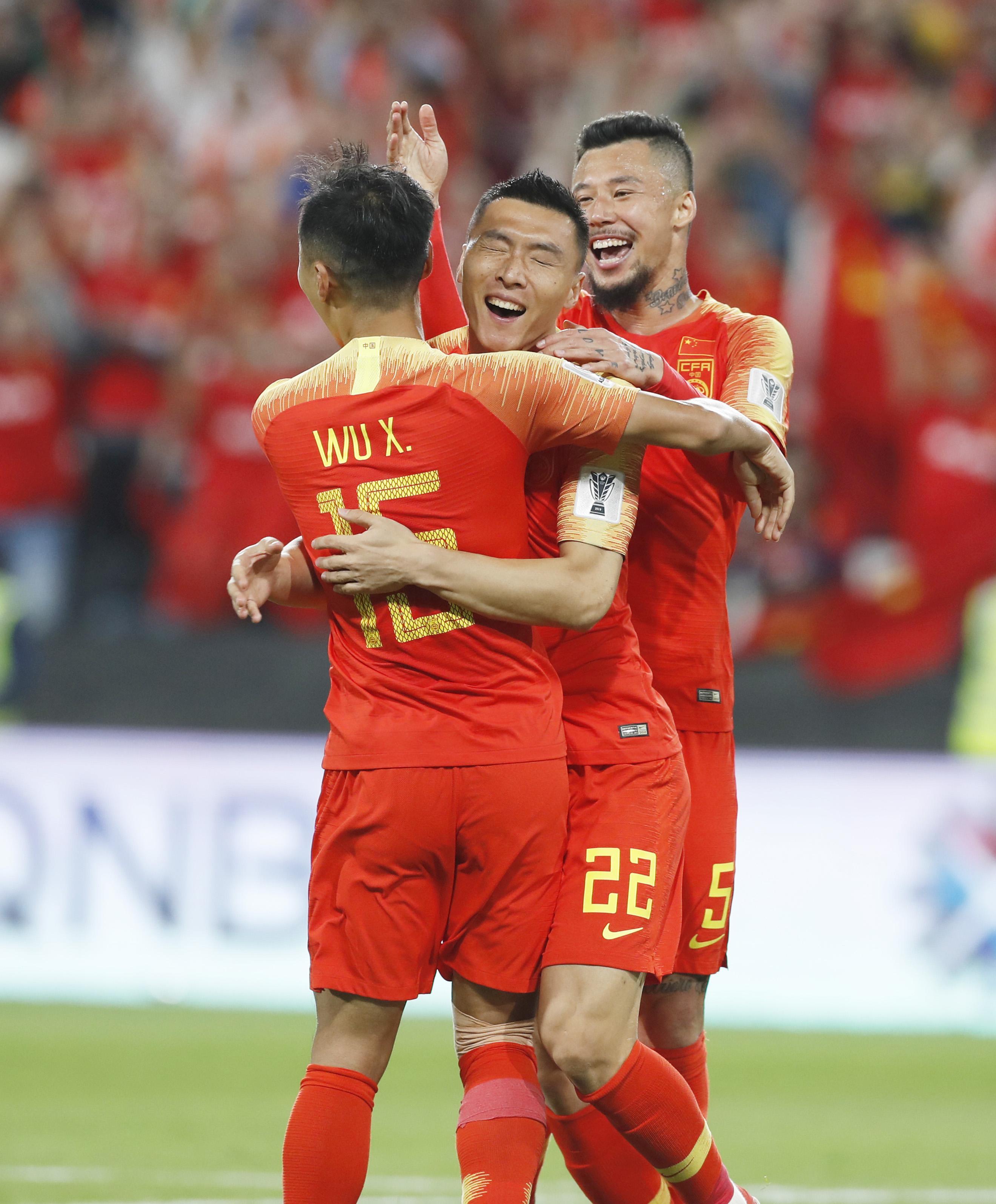 中国胜菲律宾 提前小组出线