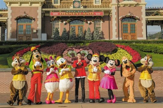 香港迪士尼新年奇妙家之旅隆重登场