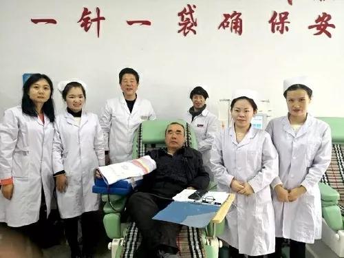 北京赛车pk10长龙战法:辽宁朝阳马俊杰 献血18年献出18人全身血量