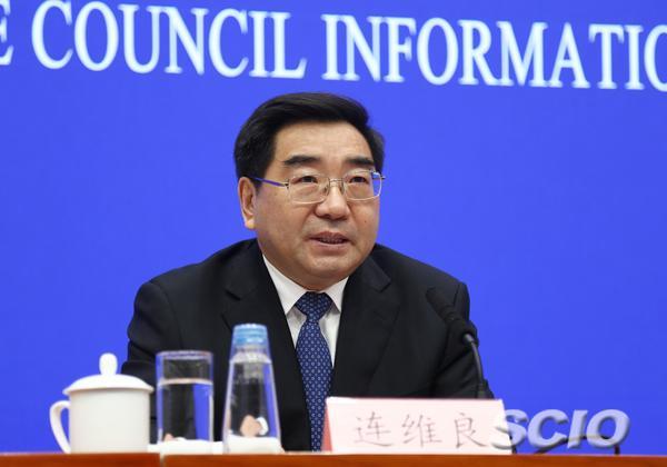 国家发展改革委副主任连维良(刘健 摄)