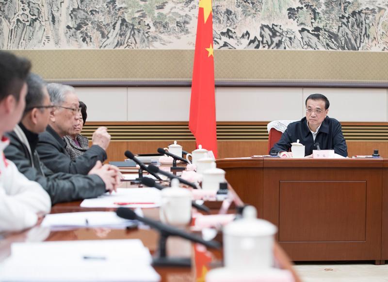 """总理今年邀请哪些""""大咖""""和""""草根""""来中南海为政府工作报告提建议?"""