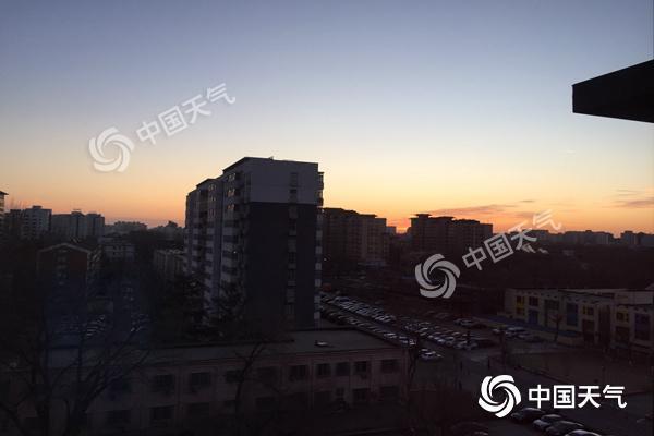 今明天北京天气回暖气温升至10℃ 初雪本周将继续无望