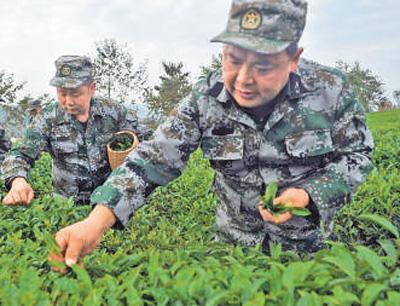 """最美退役军人王明礼:""""到最困难的地方发挥余热""""马启光微博"""