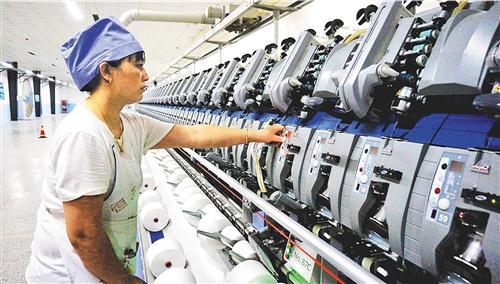 纱线点亮生活 纺织企业推进转型升级