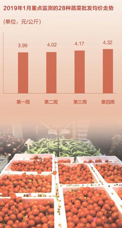 探访多地春节菜市:价格稳 品种多 供应足